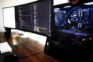 Leistungsstarker Computer