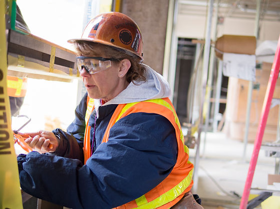Worker on Site