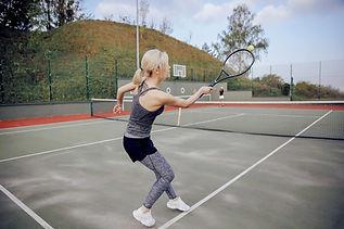 Outdoor Tennis Court