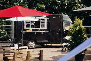 Camion de nourriture en plein air