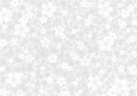 グレー花柄