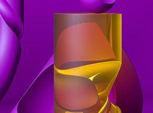 Glossy Transparent Cylinder