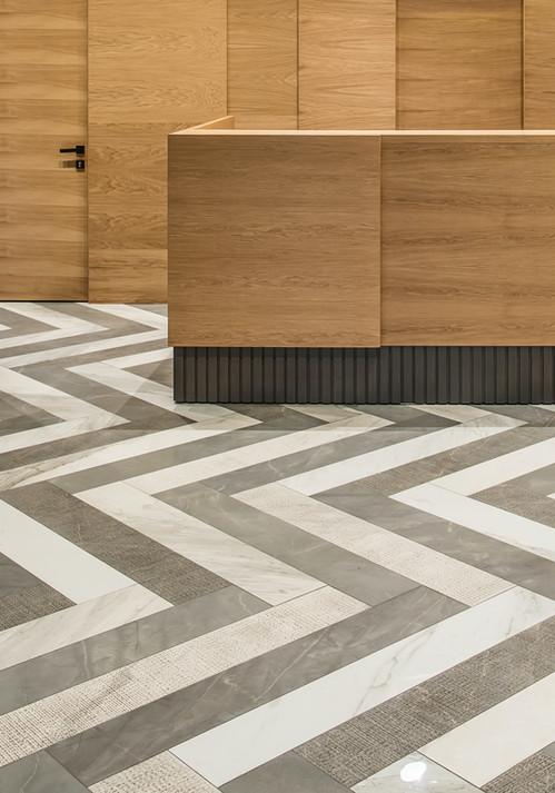 Herringbone Floor Tiles