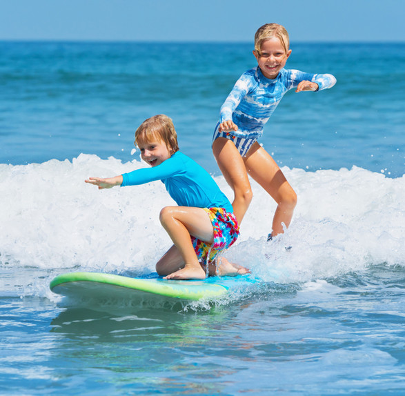 Young Surfers