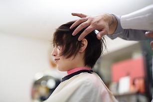 Hair Salon Blow Dry