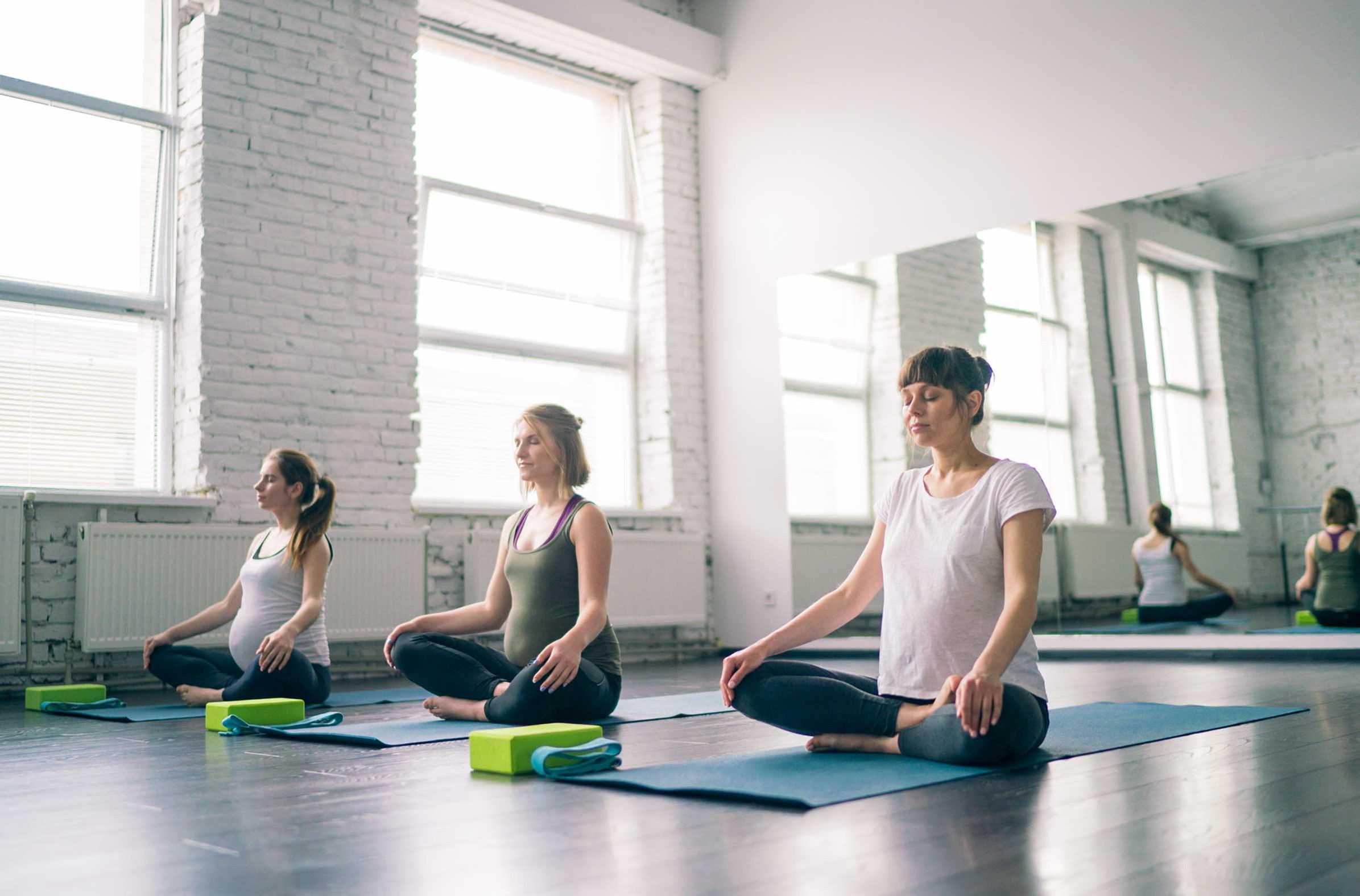 AM yoga & med.  tues 10am / sat 9:15