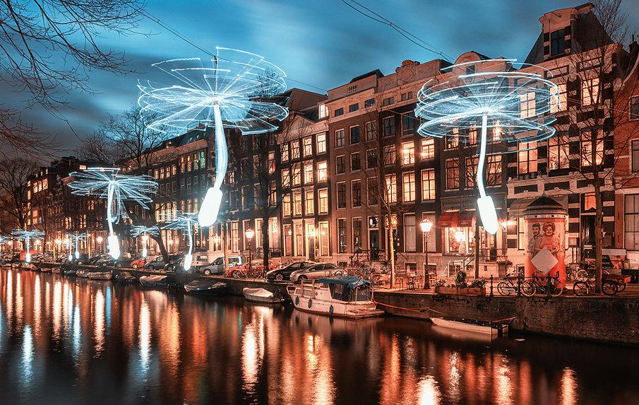 Amsterdam Işık Festivali