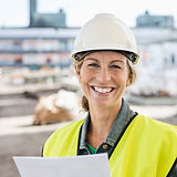 Smiling Worker