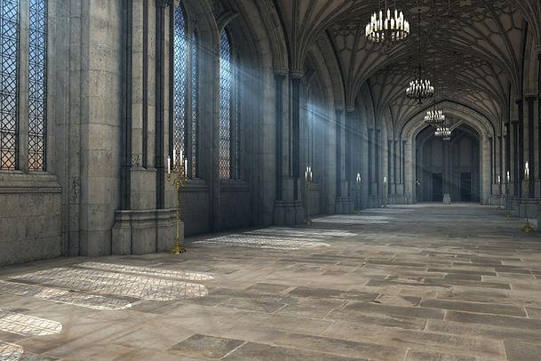 Innerhalb eines Schlosses