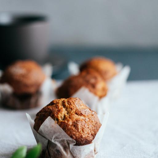 Sweet Potato & Cranberry Muffins
