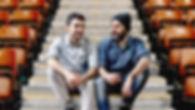 Friends in Staduim