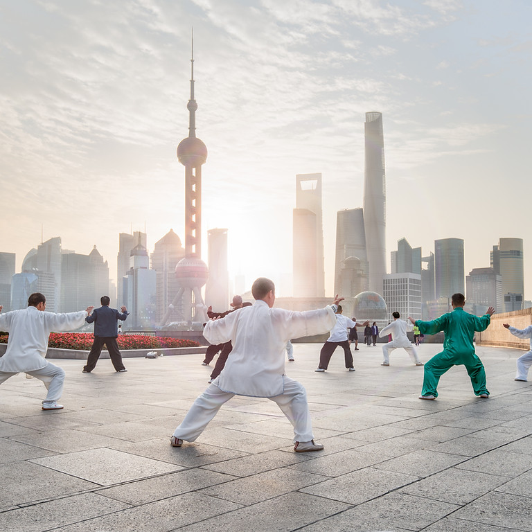 Tai Chi FORMS - May Session OUTSIDE