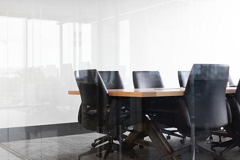 Sala de reunião Consultoria em Finanças Empresariais