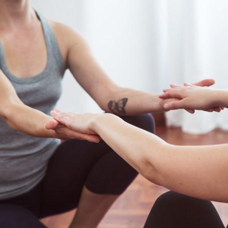 Oxytocin for a feel good Yoga practice.