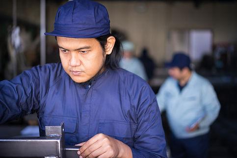 町工場 外国人労働者