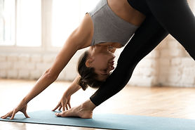 Stretching on a Mat