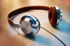 Fones de ouvido modernos