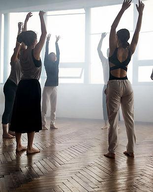Skupinové tance