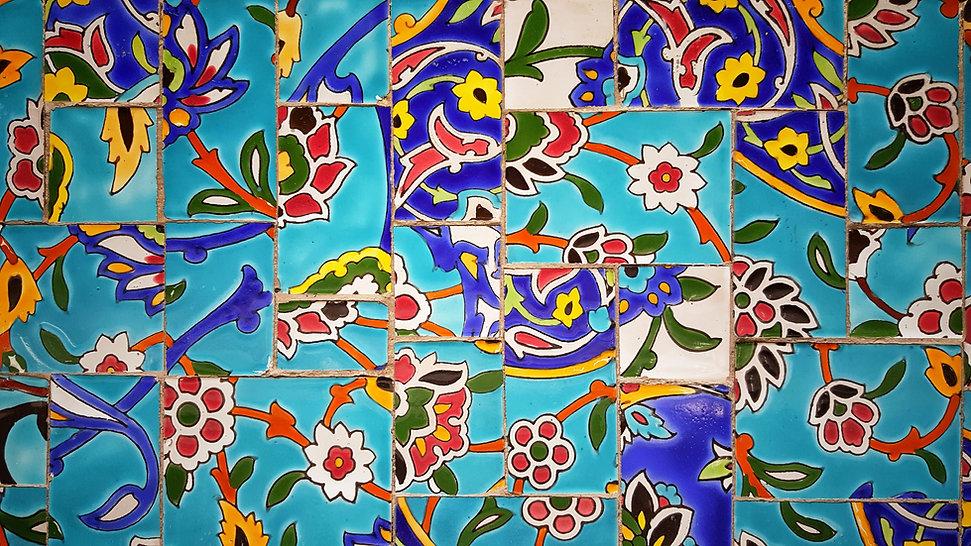 Azulejos de mosaico de mosaico