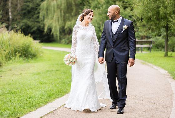 Photographie de mariage en plein air