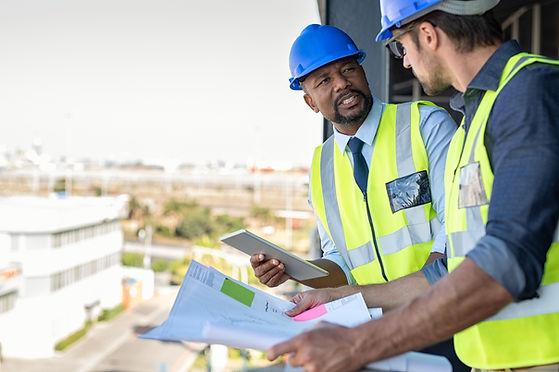 gerentes de construção