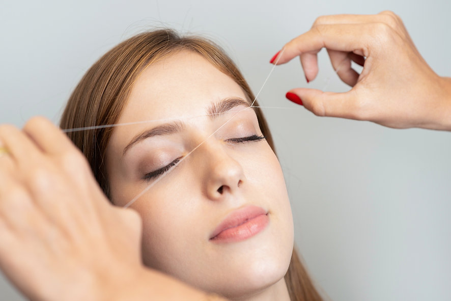 Eyebrow Threading from Blush Beauty Bar