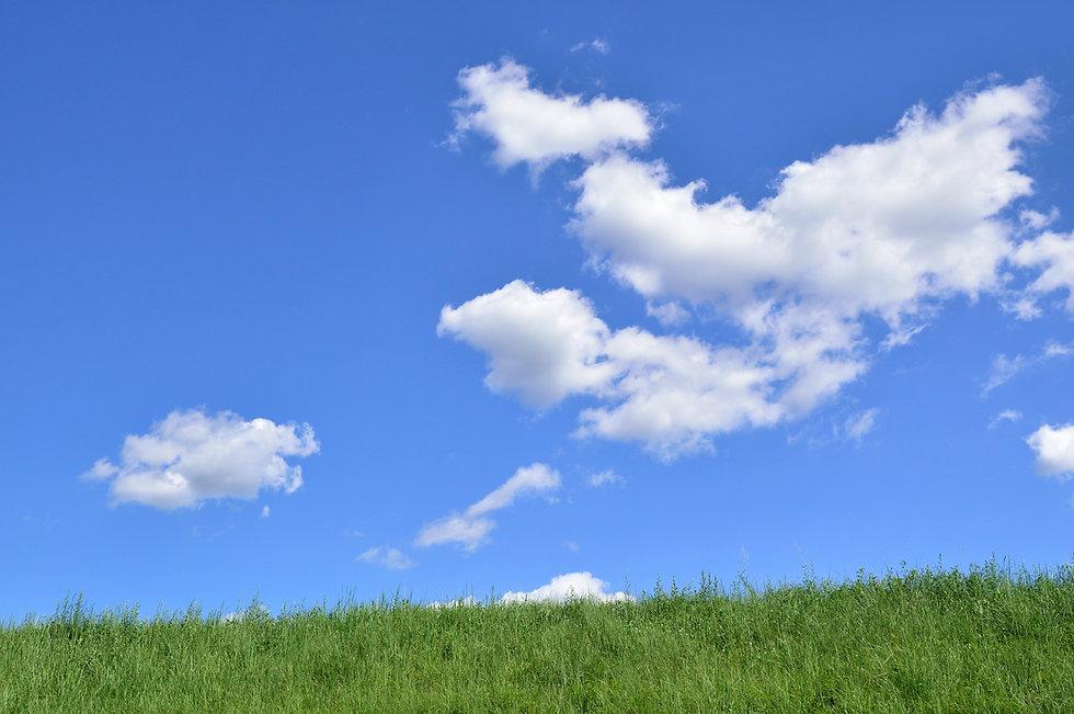 青空と雲の背景