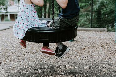 Swinging in Rubber Tire