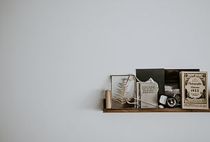 Wall Shelf and Decorations