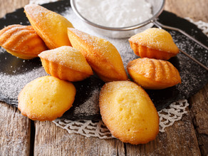 DISCOVER THE RECIPE OF LAVENDER AND HONEY MADELEINES - PROVENCE