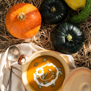 Special Halloween: Try Our Seasonal Pumpkin Soup
