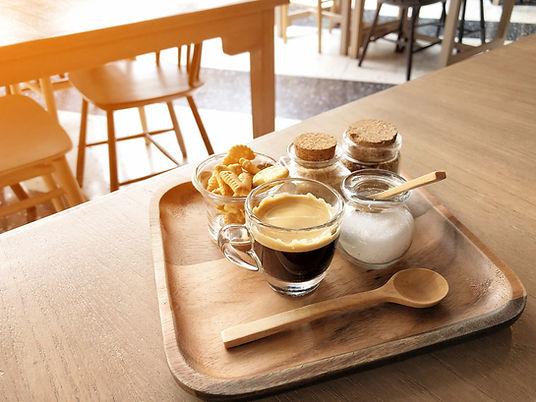 Café et pâtisseries