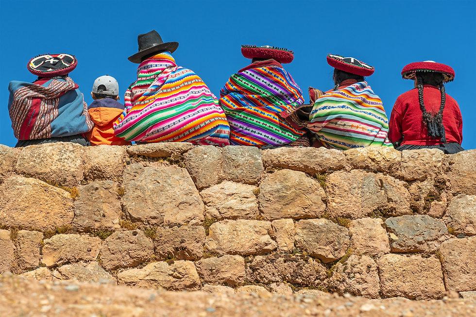 Donne indigene quechua