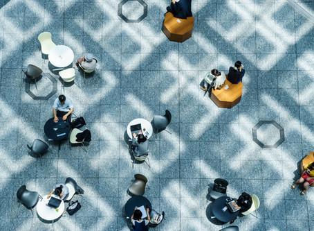 Rotina de um espaço coworking