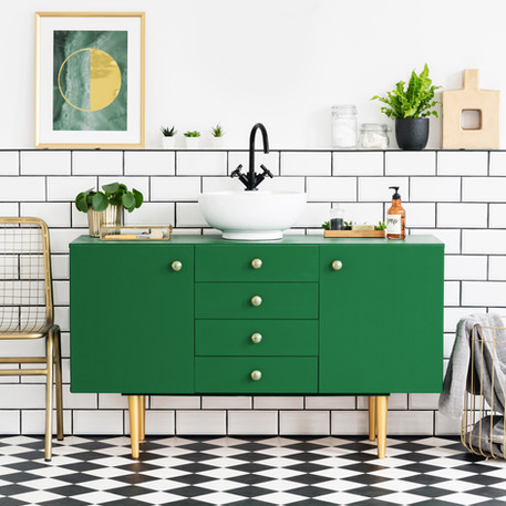 Green Cabinet
