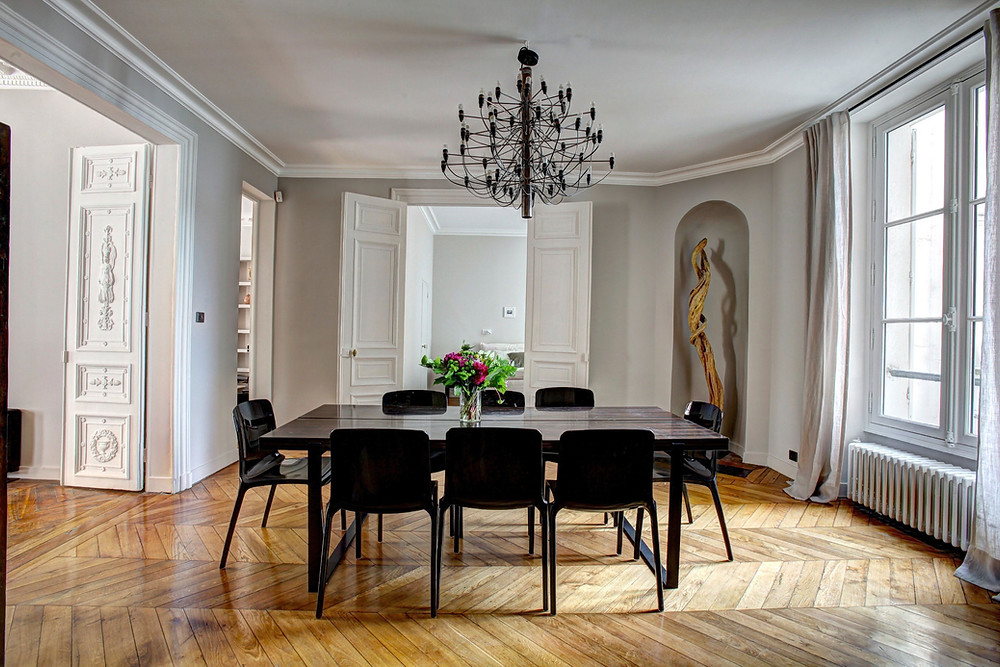 elegant and private dining room