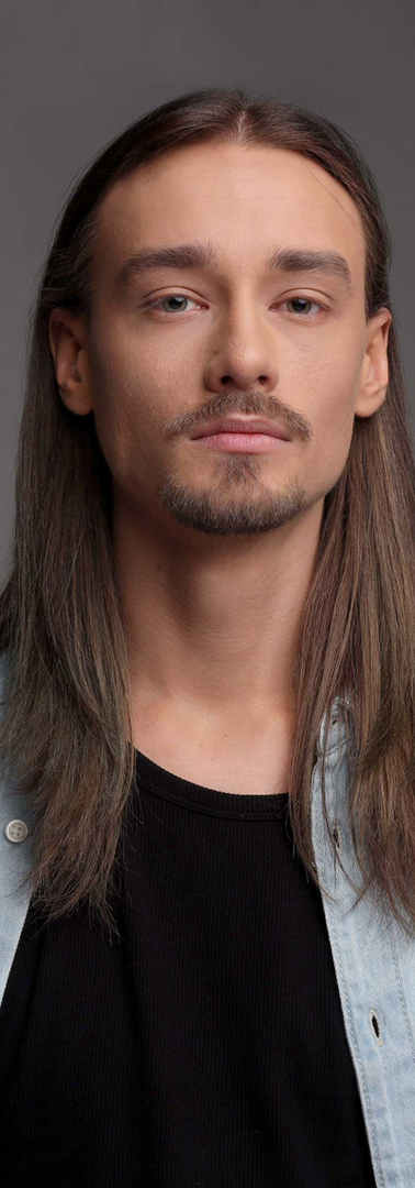 Man with Long Hair