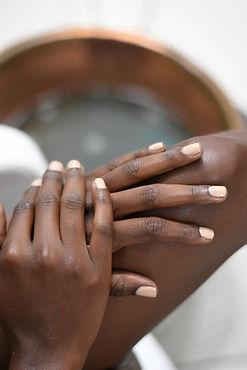 manucurés mains