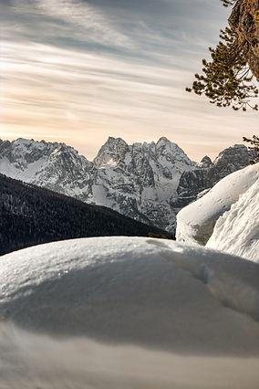 Neve sulle montagne