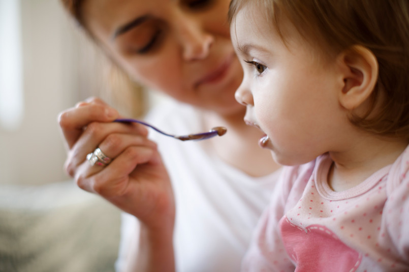 Breast milk powder boosts nutritional value of solid food