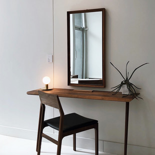 Millennium Glass: Console Table and Mirror