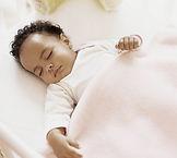 Sleeping African American Baby