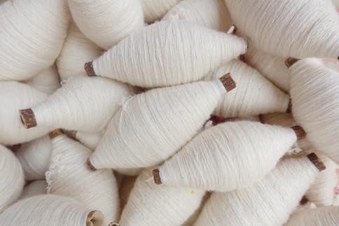 White Threads Bunches