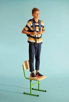 Standing on Chair