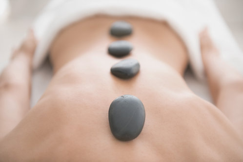 Hot stone therapy gift voucher