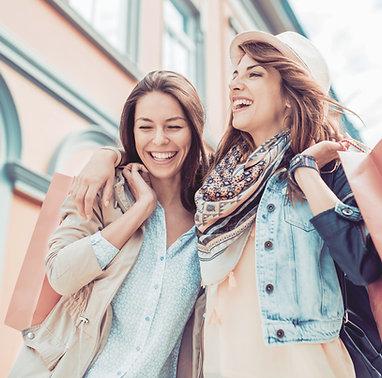 Virée shopping entre copines