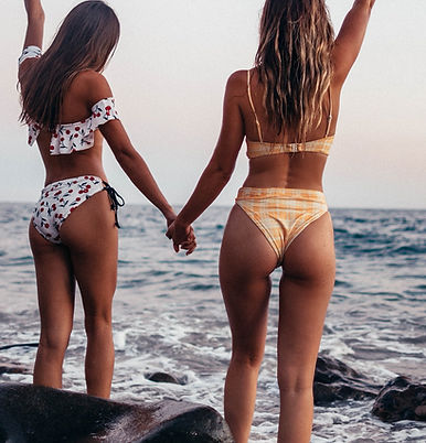 Two Friends at the Beach