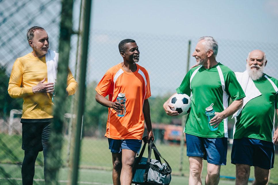 Senior Soccer Players