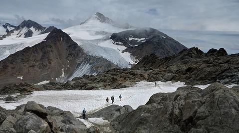 Horských turistů