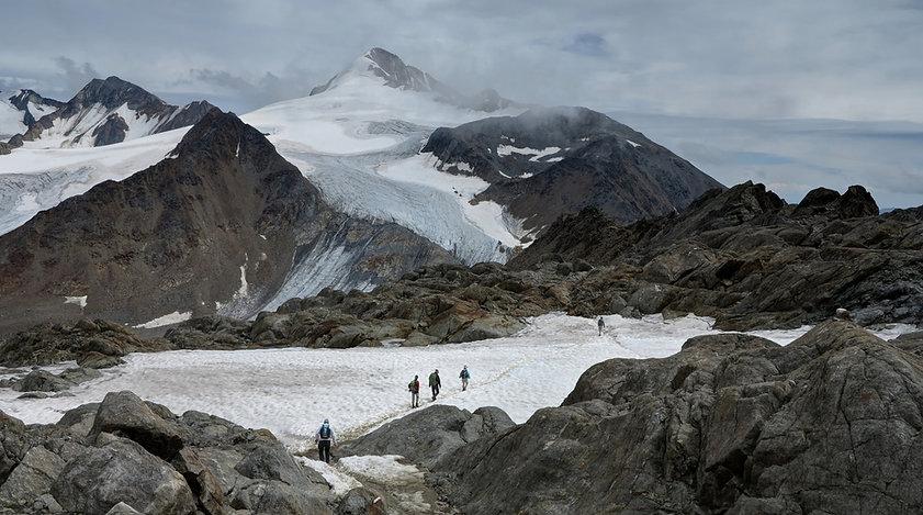 Caminhantes da montanha